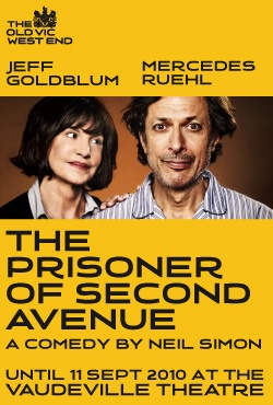 The Prisoner of Second Avenue, at the Vaudeville Theatre, London