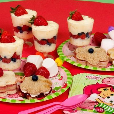 Girls Tea Party Food Ideas | Girls Party Food Ideas Gallery | little Girls  Their Tea Parties .. @Andrea Flanagan ... this is for you!