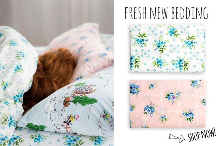 Snuggle up with fresh new bedding
