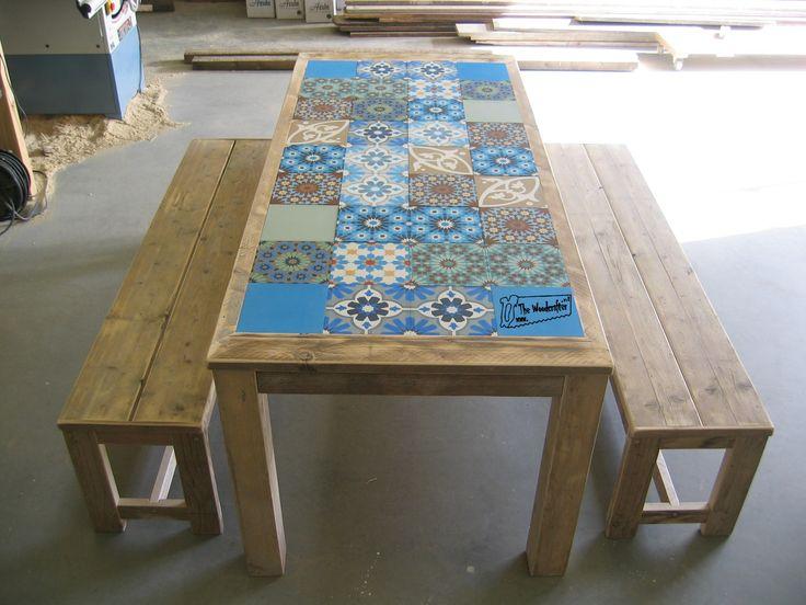 Maatwerk eettafels / buitentafels   Home   Portu-Table