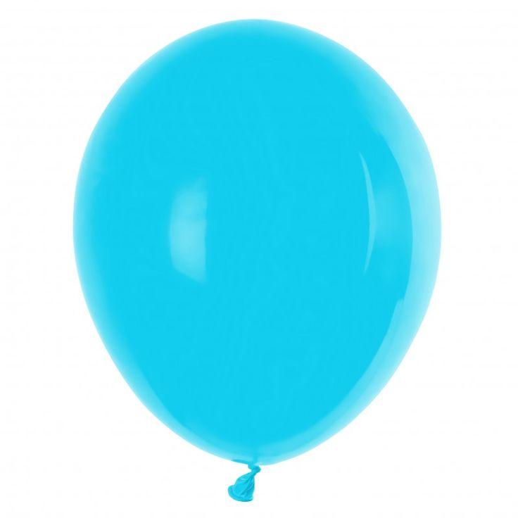 GT90 Pastel - Ballonnen Licht Blauw - Baby blauw 100 stuks 29 cm