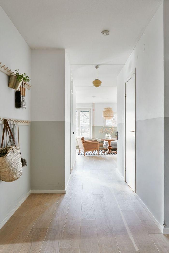 ▷ 1001 + idées de couleurs pour une peinture couloir originale ...