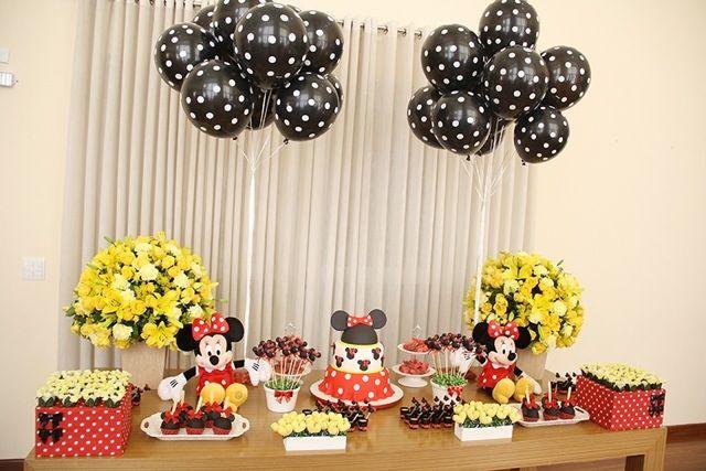 doces para festa com tema da minnie - Pesquisa Google