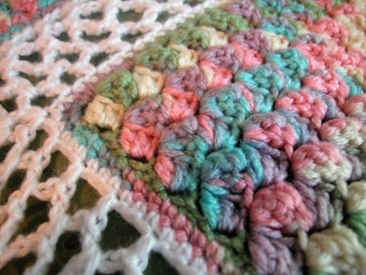 Crochet Baby Blanket Patterns Variegated Yarn : 166 best images about Free Crochet Afghan Patterns. on ...