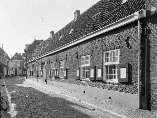 Tuchthuisstraat Haarlem (jaartal: 1970 tot 1980) - Foto's SERC