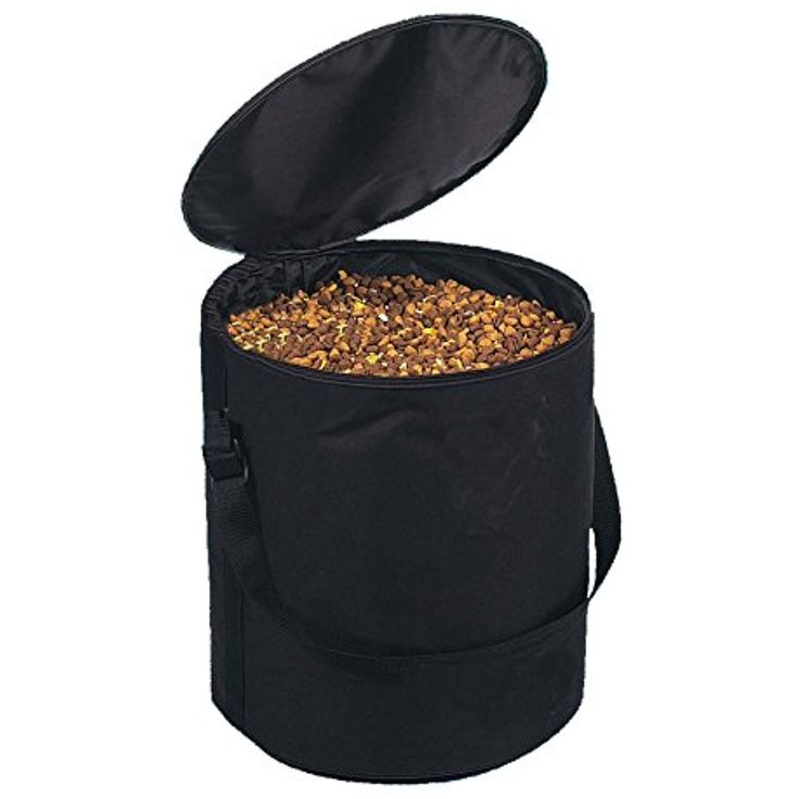 Lifeunion Pet Dog Food Storage Bag Bucket,Collapsible Waterproof Travel Dogs Cats Food Feeding Snack Bowl Container Barrel @@ You could get additional details at the image link. (This is an affiliate link and I receive a commission for the sales)