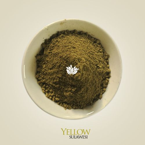 Our premium Yellow Sulawesi kratom powder comes from partially mature kratom leaves harvested from fully mature trees growing along a river in Borneo. The leaves are washed, dried in the shade, then ground two times for optimum, silky smooth texture before being packaged with care. The central veins are removed before grinding. No fertilizers or pesticides are used on this privately farmed kratom forest.  #kratom #kratomindonesia #kratomsupplier #buykratom #kratomsale