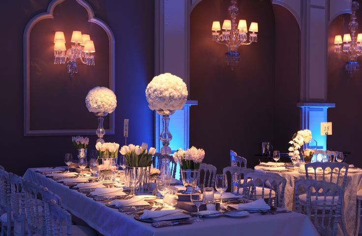 Sophisticated floral centerpiece