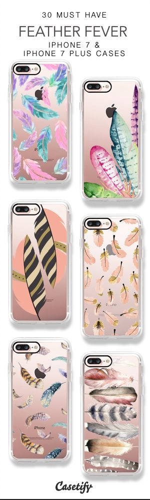 30 Must Have Feather Fever iPhone 7 Cases & iPhone 7 Plus Cases here > https://www.casetify.com/artworks/K0jgGiQfVz