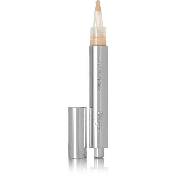 Zelens Active Concealer - 01, 3ml ($48) ❤ liked on Polyvore featuring beauty products, makeup, face makeup, concealer, beige, hydrating concealer, oil free concealer, dark circle concealer, zelens and moisturizing concealer