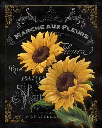 Marche Aux Fleurs by Abby White ~ floral art