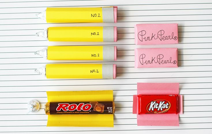 Back-to-School Rolo Pencils and Erasers via Lilyshop Blog by Jessie Jane