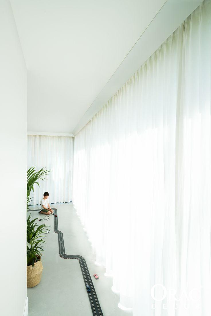 Chambre Combles : Curtain Profile C991 by Orac Decor  Curtain Profiles