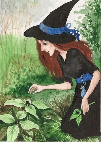 Belladonna Garden Witch Art Is Beauty Pinterest