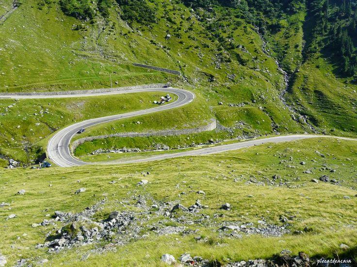 plecat de acasă: Două circuite de toamnă pe cele două șosele alpine...