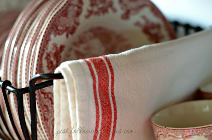 Red Ticking Country Cottage