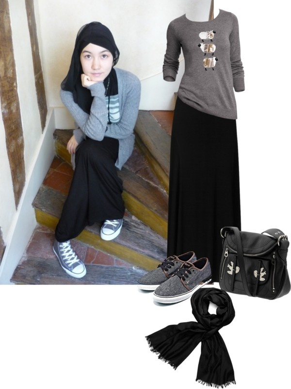 """hijaber sporty"" by delfi-chairani-alif ❤ liked on Polyvore"