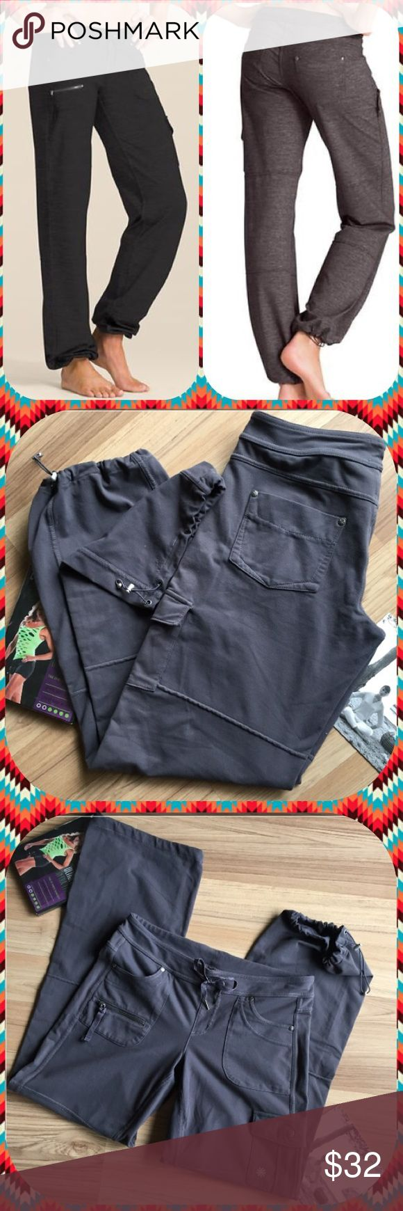 🐿 Athleta Bettona Pants🐿 Excellent Condition!!! 🍂🍁🐿 Heathered Bettona yoga multipurpose fitness pants cover all of your schedule's needs. Multiple pockets, cinches at the ankle, and fabulous fabric all make this a great choice for your active/Travel lifestyle. Size S = Lululemon 6.  Worn only a few times.(Black pants on left model only in frame #1) Athleta Jackets & Coats