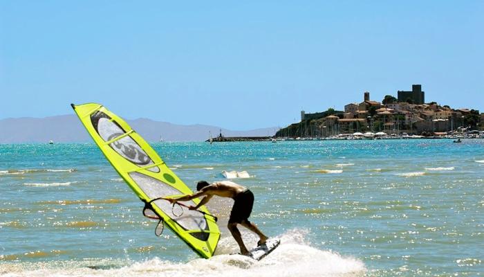 Windsurfing at Talamone