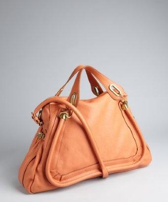 Chloe : suntan leather \u0026#39;Paraty\u0026#39; large top handle bag | BAG......? ...