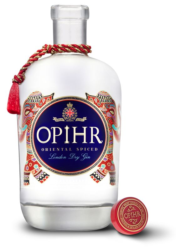 Opihr Oriental Spiced Gin - Opihr Oriental Spiced Gin opens your senses to the rich aromas of the ancient spice route.