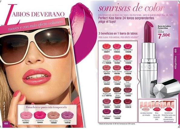 Una de las más amplias gamas de colores para poner tus labios a punto para el verano.