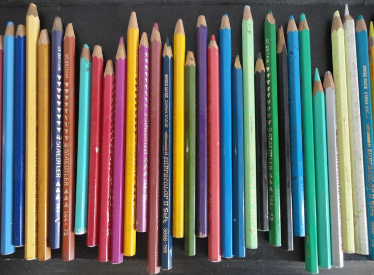 Love my colourful pencils