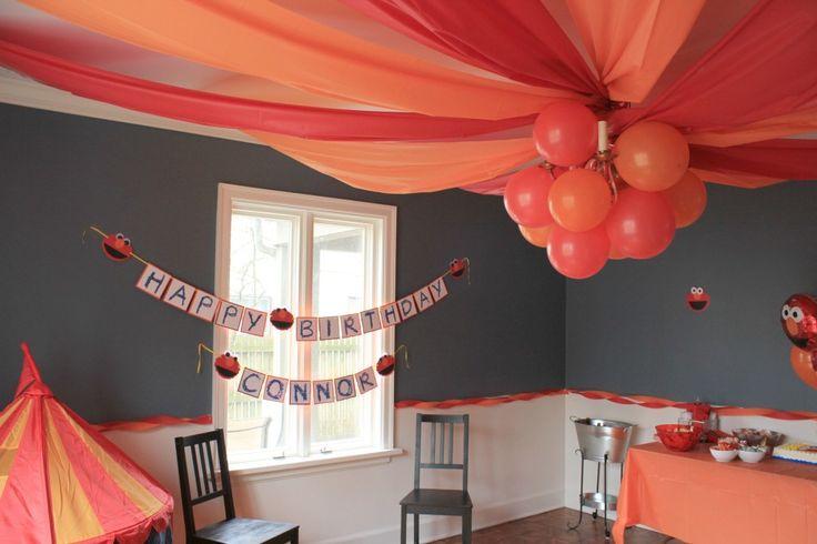 Elmo Birthday Bash - #projectnursery