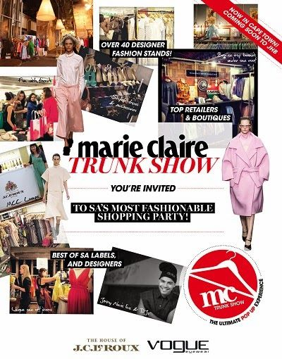 Spreading the Quirky: Marie Claire Trunk Show Cape Town