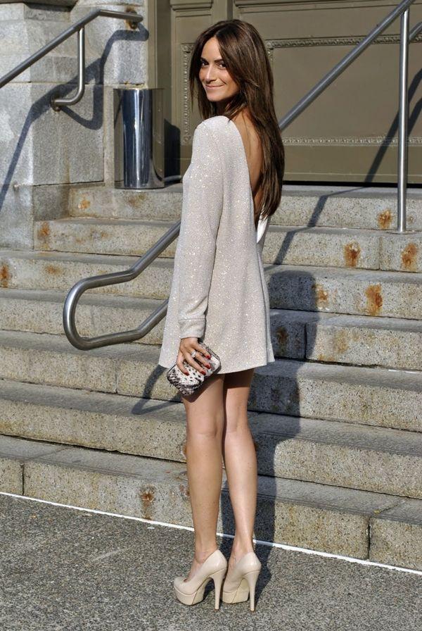 New obsession: long sleeve mini dresses.