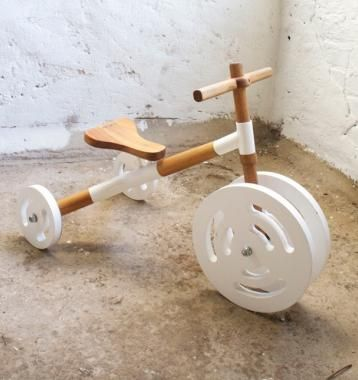 Milkshed Motive tricycle! Available http://www.greenelephantcollective.co.za/shop/green-myself/babies-kids/motive-wooden-tricycle/913