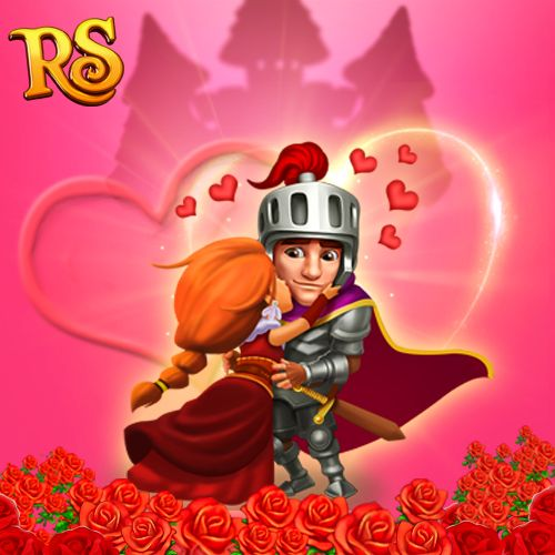 You're my one and only! I love you to the moon and back! #royalstorygame #royalvalentines