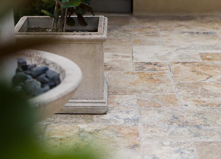 Backyard Tiles Melbourne : about Pavers & Stone  French Pattern on Pinterest  Travertine pavers
