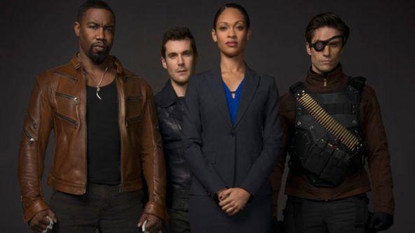 """Arrow"" Season 2 has introduced the Suicide Squad in photos featuring Bronze Tiger, Amanda Waller, Shrapnel, Deadshot, Lyla Michaels and John Diggle."