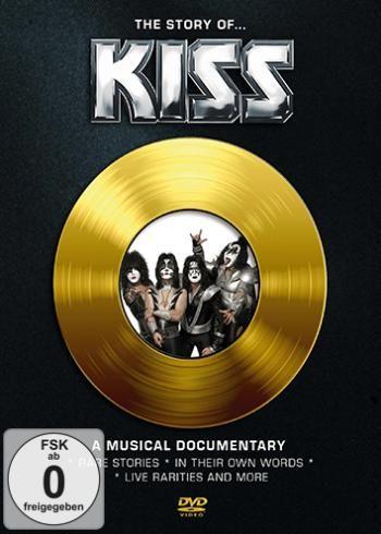 """DVD dei #Kiss intitolato """"The Story of Kiss""""."""
