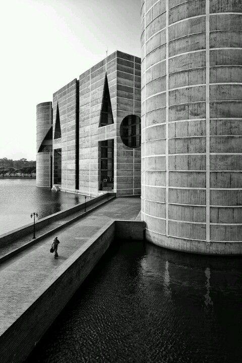 Louis Kahn - Parliament complex, Dhaka.