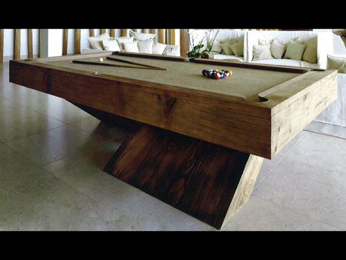 Awesome Bentley Cantilever 8ft Pool Table   Stained
