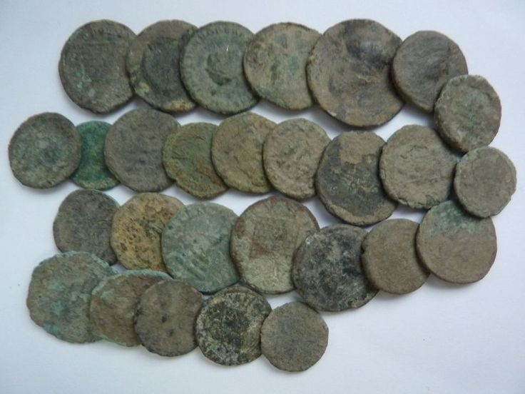Ancient Roman Coins 28 psc Not cleaning Good Lot- Rare Coins