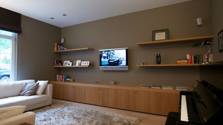 Audio-video wand - Antonissen Interieurbouw Breda, Interieur op maat. Design en klassiek