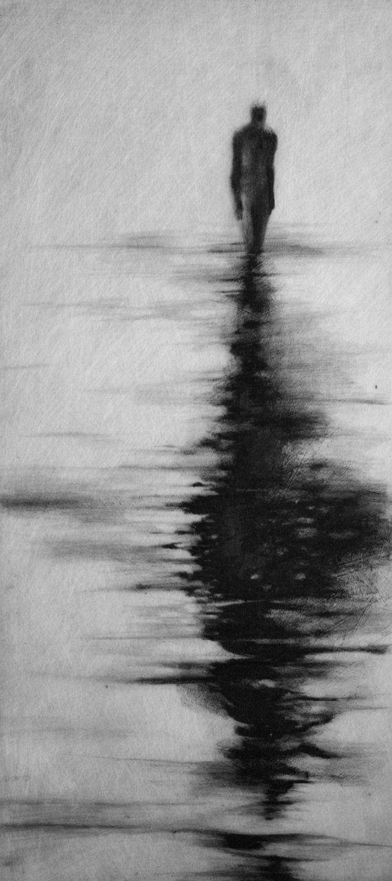 Macabre Gothic Haunting Moody  Dark Fog Fine by ClaraLieuFineArt, $150.00