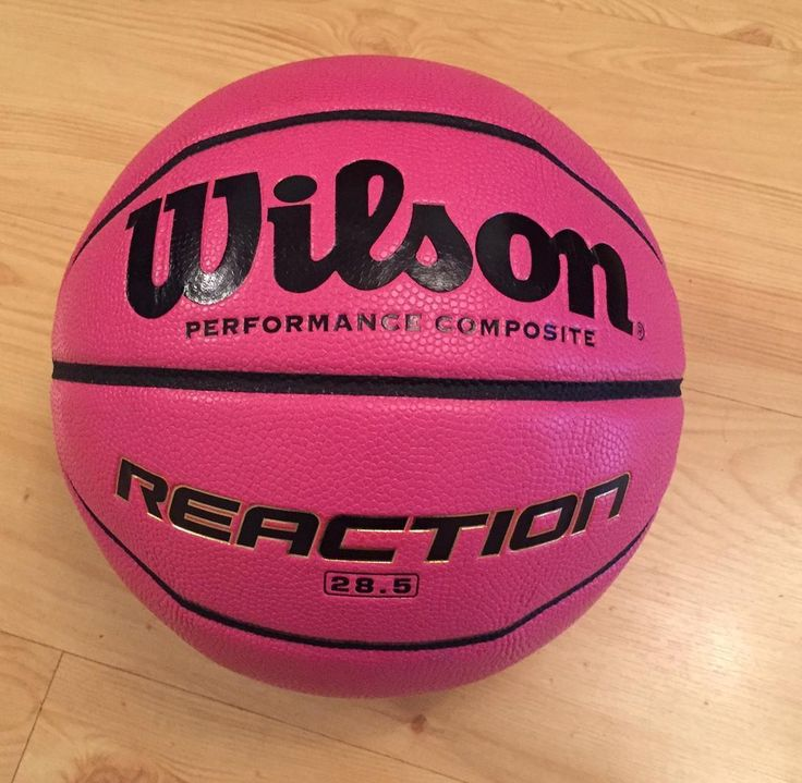 #Wilson 285 #reaction basketball #composite leather ball size 6 pink,  View more on the LINK: http://www.zeppy.io/product/gb/2/252657843862/