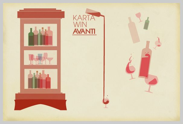 Wine Menu Design - Karta Win Avanti
