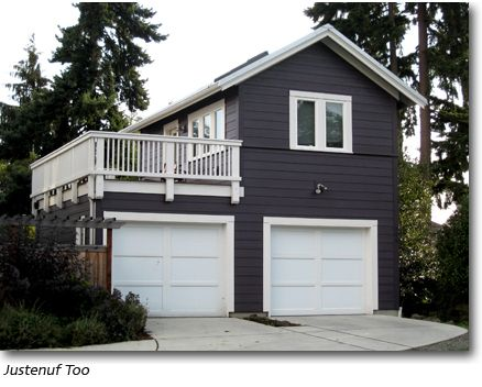 Detached garage building plans woodworking projects plans for Building a garage apartment