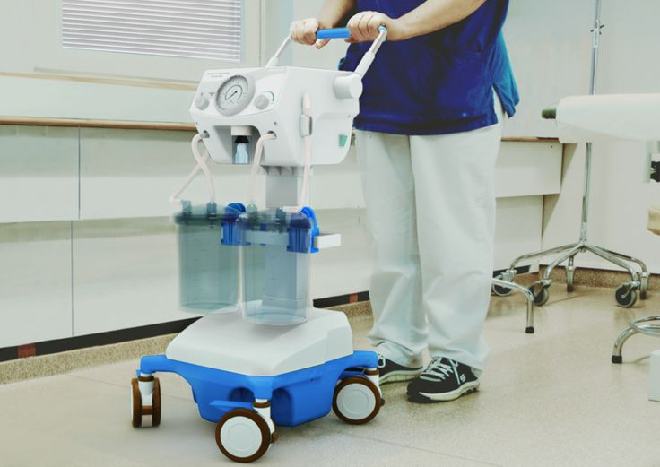 Design by NOJD. Case: HEALO a portable suction pump for healthcare centers, designed for Doctor's Friend