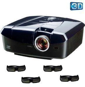 Mitsubishi HC7800D 1080p DLP Home Theater 3D Projector w/ (4) 3D Glasses by Mitsubishi. $1499.00. Stunning 3D Performance The HC7800D HD projector offers DLP, high-precision conversion and original 3D glasses with high-speed liquid-crystal shutter to deliver amazing performance. Using motion-vector analysis technology, 2D images converted to 3D have a natural sensation of depth. The optional glasses best match the high-speed DLP system. High-speed switching is over ten ti...