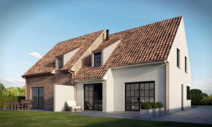 Huis te koop in Hansbeke - 284 300 € - Logic-immo.be - Betaalbaar wonen Functionele halfopen nieuw te bouwen woning met landelijk charisma op een formidabele, charmante locatie in een beschermd dorpsgezicht. Compleet naar wens afgewerkt met 3 of 4 slaapk...