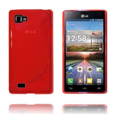 Transparent S-Line (Rød) LG Optimus 4X HD Deksel