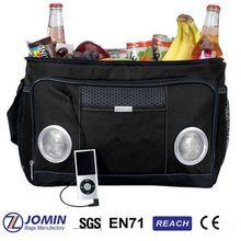 black beach picnic encore mp3 cooler bag speakers