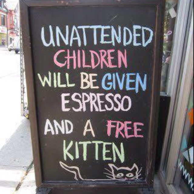 Lol - clever signage