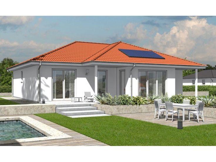Bungalow 128 - #Einfamilienhaus von Town & Country Haus Lizenzgeber GmbH   HausXXL #Bungalow #Energiesparhaus #klassisch #Walmdach